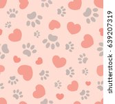 Seamless Pattern With Hearts...