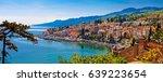 town of volosko waterfront... | Shutterstock . vector #639223654