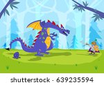 a dragon defends its egg from a ...