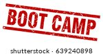 square grunge red boot camp... | Shutterstock .eps vector #639240898