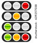 traffic light  traffic lamp... | Shutterstock .eps vector #639257038