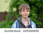boy. outdoor portrait of 11...   Shutterstock . vector #639260698