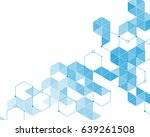 abstract pattern of light blue ... | Shutterstock .eps vector #639261508