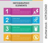 modern mode infographic... | Shutterstock .eps vector #639262060