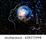 digital mind series. design... | Shutterstock . vector #639272998