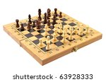 chess board isolated | Shutterstock . vector #63928333