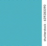 vector pattern with waves | Shutterstock .eps vector #639283390