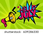 cartoon font label. sounds... | Shutterstock .eps vector #639286330