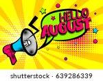 advertising message pop art... | Shutterstock .eps vector #639286339