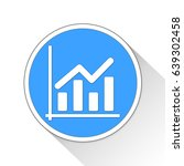 bar chart button icon business...