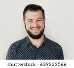 man standing and smiling for... | Shutterstock . vector #639323566