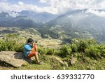a photographer is standing in... | Shutterstock . vector #639332770