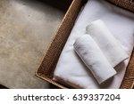 towels bath   Shutterstock . vector #639337204