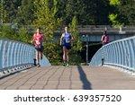 2017 eugene  oregon marathon... | Shutterstock . vector #639357520