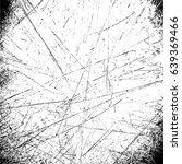 scratch pattern. template black ... | Shutterstock . vector #639369466