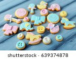 Baby Cookies Decorated With...