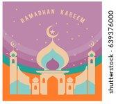 vector illustration for ramadan ... | Shutterstock .eps vector #639376000