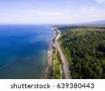 trans siberian railway on the... | Shutterstock . vector #639380443