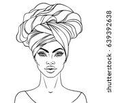 african american pretty girl....