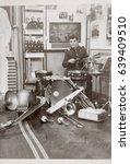 ussr  leningrad   circa 1968 ... | Shutterstock . vector #639409510