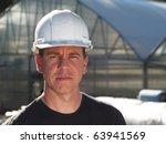 man in hard hat | Shutterstock . vector #63941569
