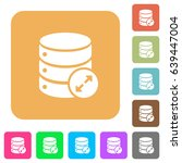 Expand Database Flat Icons On...