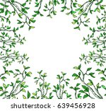 hand drawn beautiful spring and ... | Shutterstock .eps vector #639456928