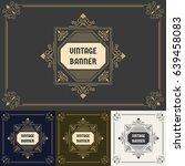 vintage background label style... | Shutterstock .eps vector #639458083