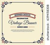 vintage background label style... | Shutterstock .eps vector #639458308