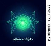 futuristic abstract tech... | Shutterstock .eps vector #639460213