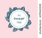 summer vector design for... | Shutterstock .eps vector #639463240