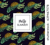 summer vector design for... | Shutterstock .eps vector #639467578