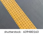 warning block  tactile  braille ... | Shutterstock . vector #639480163
