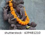 ganesha with balinese barong... | Shutterstock . vector #639481210