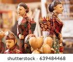 wooden statue craft made from... | Shutterstock . vector #639484468