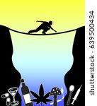 training for drug addict....   Shutterstock . vector #639500434