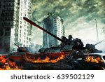 The Tank In The Ruins Of The...