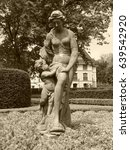 Small photo of statue of Venus with Cupid