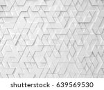 abstract triangle pattern. 3d... | Shutterstock . vector #639569530