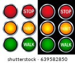 traffic light | Shutterstock .eps vector #639582850