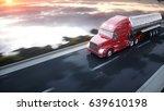 gasoline tanker  oil trailer ...   Shutterstock . vector #639610198