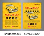 taxi pickup service design... | Shutterstock .eps vector #639618520