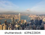 hong kong city business... | Shutterstock . vector #639622834