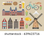 Netherland Illustration  Vecto...