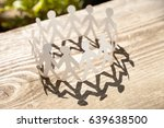 circle made of paper stickman... | Shutterstock . vector #639638500
