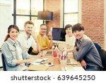 multi ethnic business person... | Shutterstock . vector #639645250