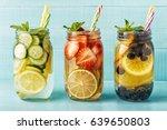 detox fruit infused water....