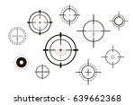 target icons set sniper scope...   Shutterstock .eps vector #639662368