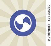fan icon. sign design....