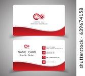 business card design set.... | Shutterstock .eps vector #639674158
